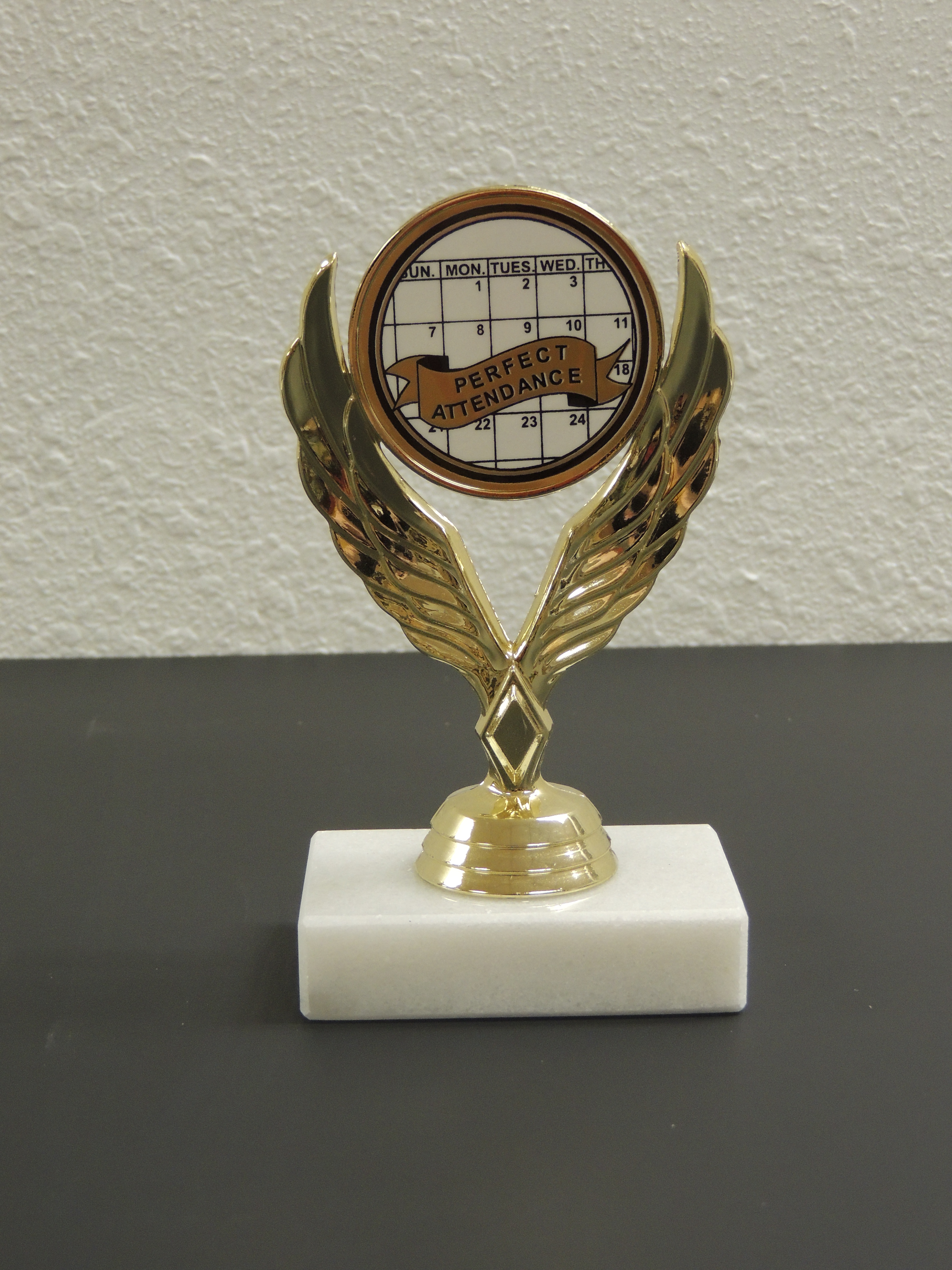 Perfect Attendance Trophy